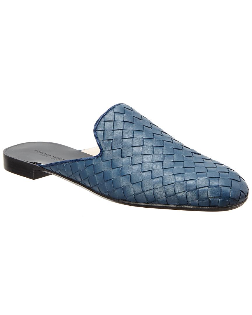 6a3d3e389a4 Bottega Veneta Fiandra Intrecciato Nappa Leather Slipper