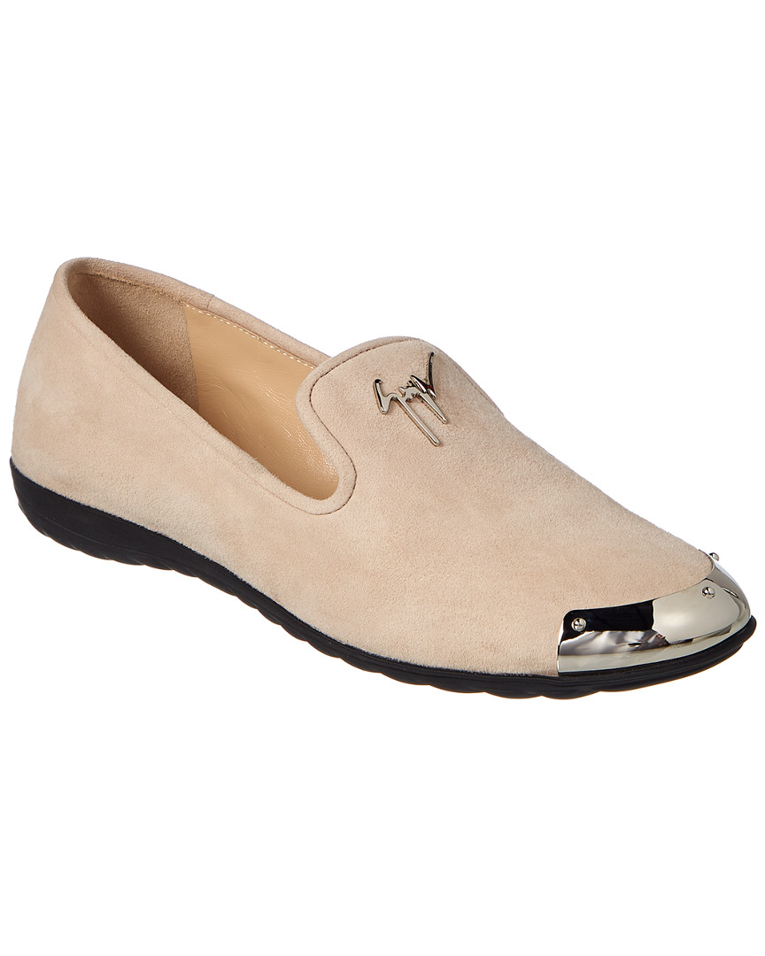 LOGO SUEDE LOAFER