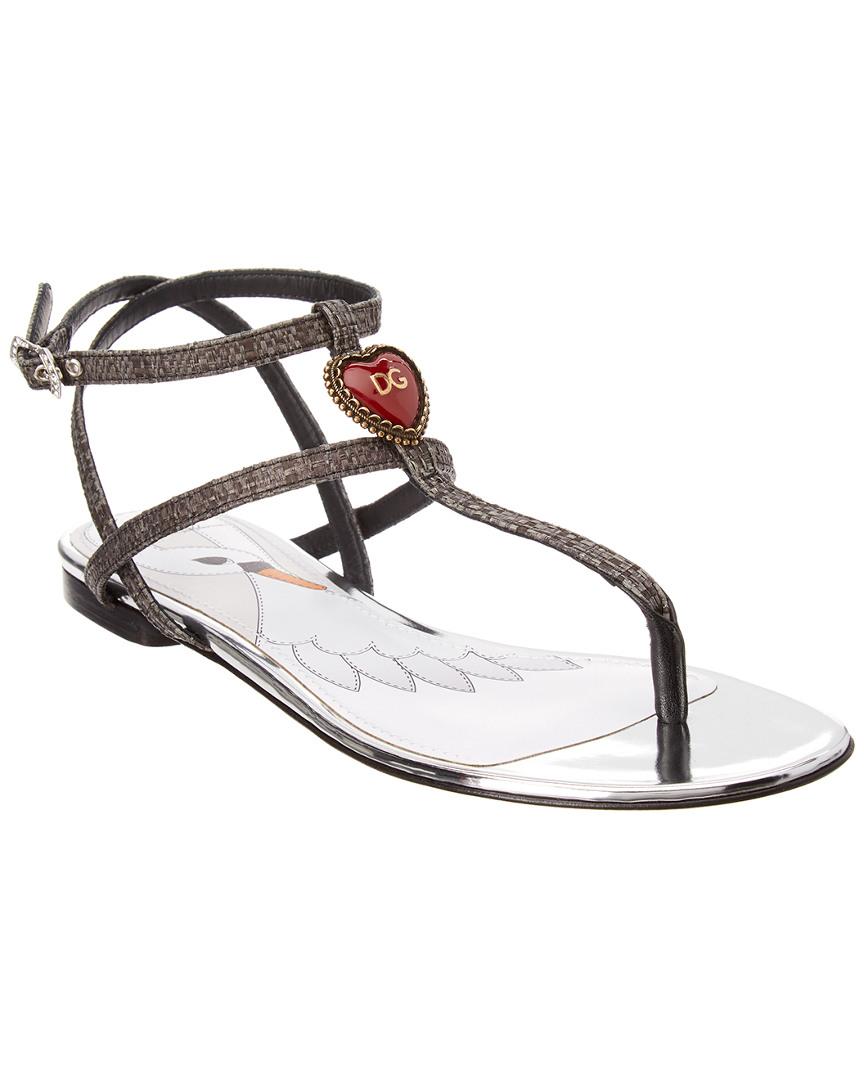 4b3643a38960b8 Dolce   Gabbana Heart Thong Sandal