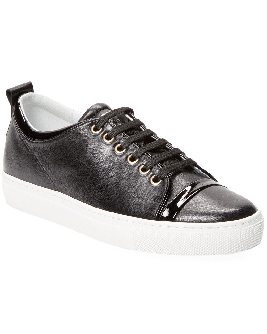 Lanvin Leathers LEATHER LOWTOP SNEAKER