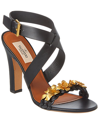 Valentino Garden Party Leather Sandal
