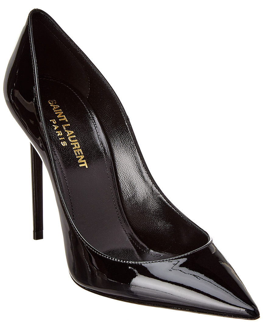 Zoe Pointy Toe Pump in Black from Gilt