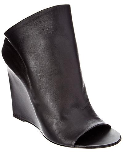 Balenciaga Leather Wedge Mule