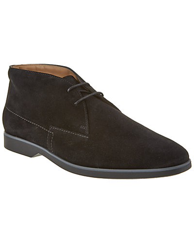 TOD's Lace-Up Suede Ankle Boot
