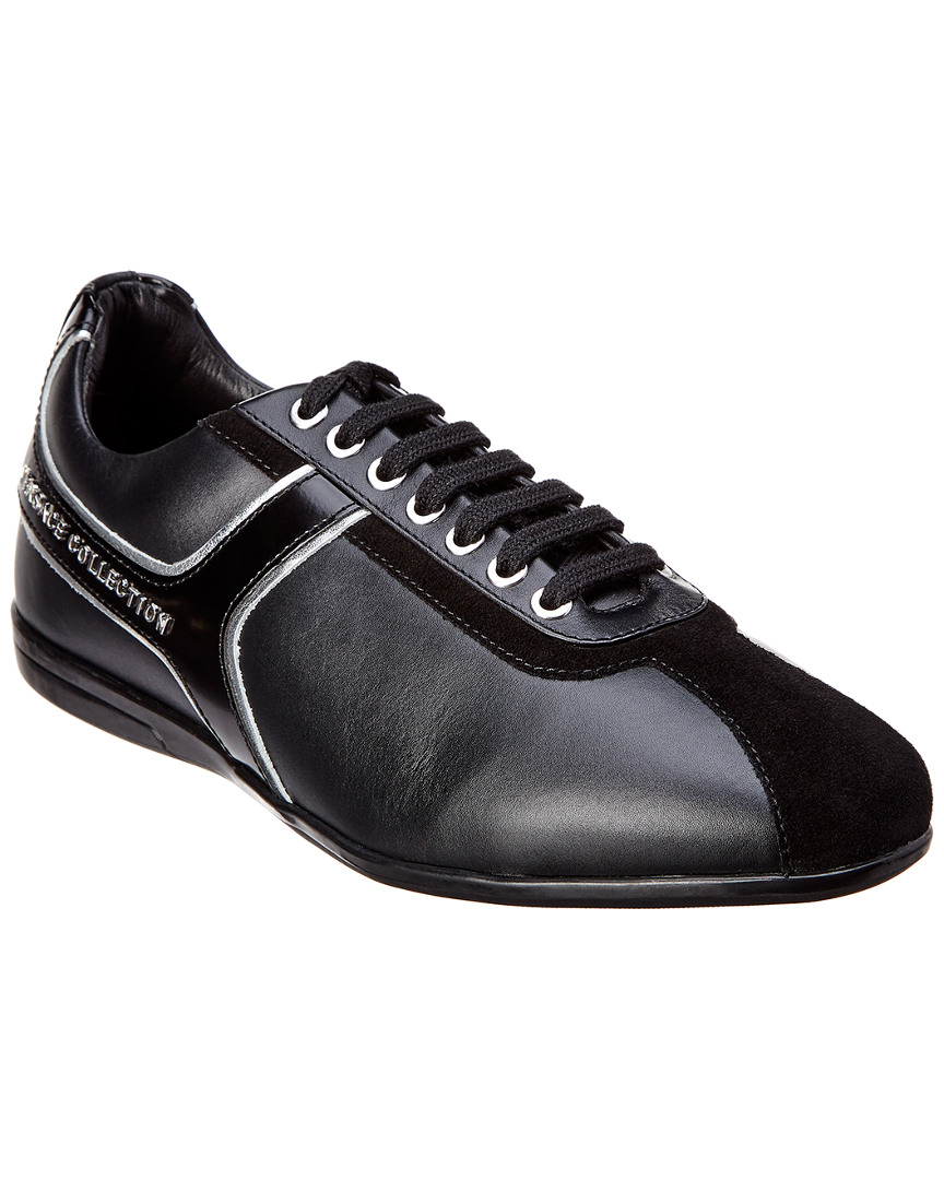 Versace Leathers COLLECTION LEATHER SNEAKER