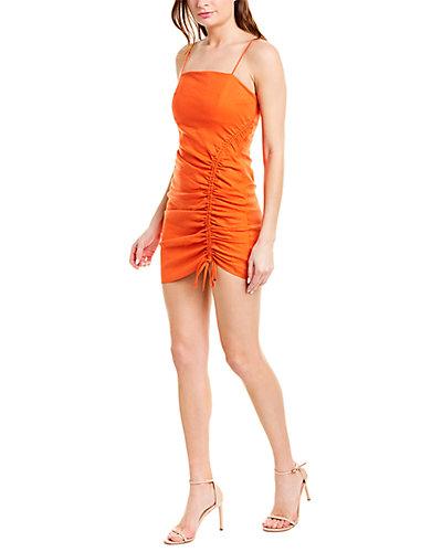 Rue La La — Ramy Brook Carsen Linen-Blend Sheath Dress