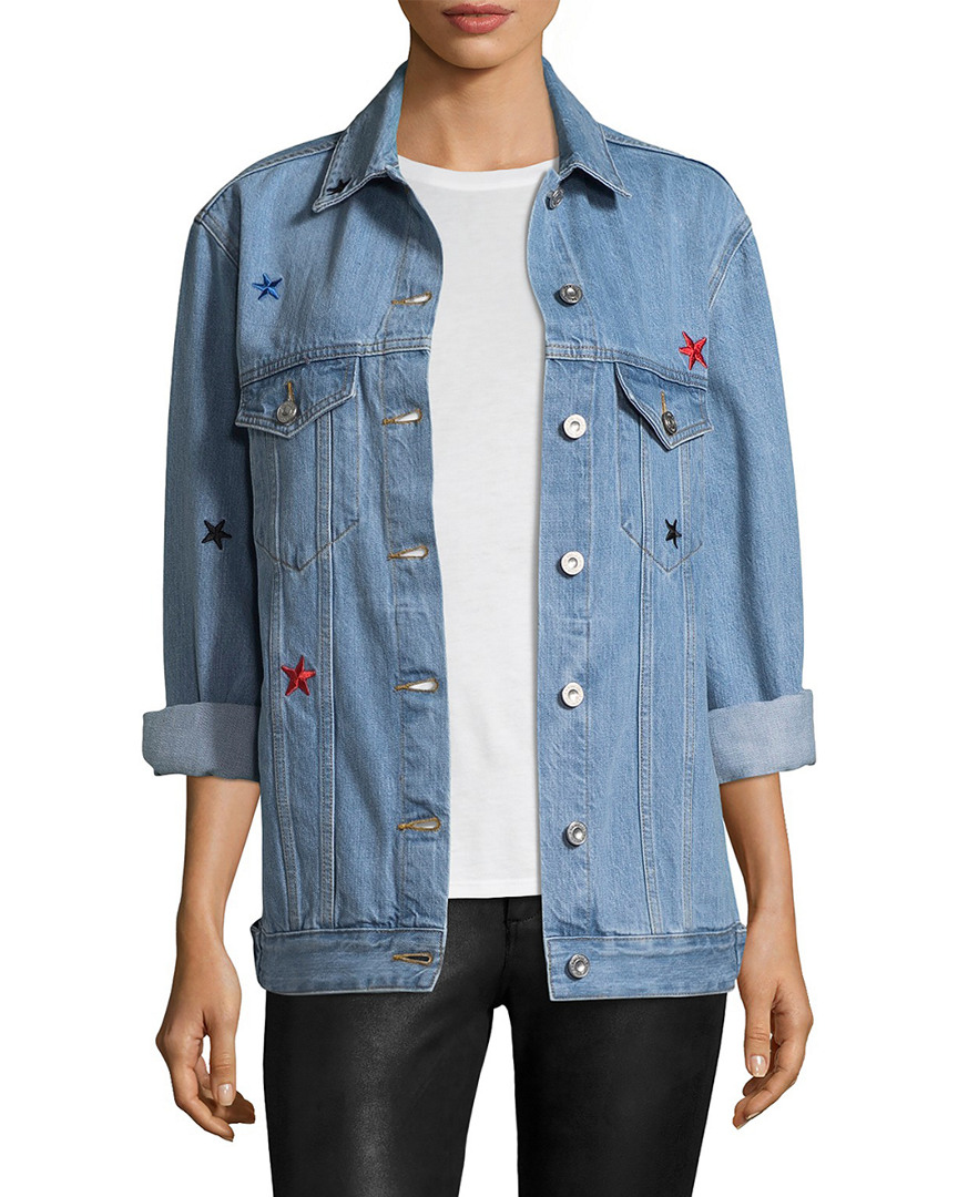 THE REAL LIVE BUNCH OVERSIZE DENIM JACKET