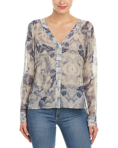 AS by DF Avery Silk Blouse
