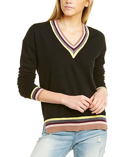 Rue La La — Central Park West Dropped-Shoulder Sweater