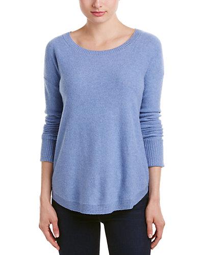 Lockhart Cashmere Reverse Oversize Cashmere Crewneck Sweater