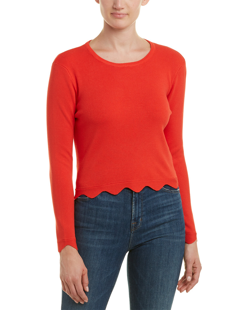 English Factory SCALLOPED SWEATER