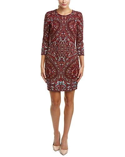 Haute Hippie Embroidered Sheath Dress