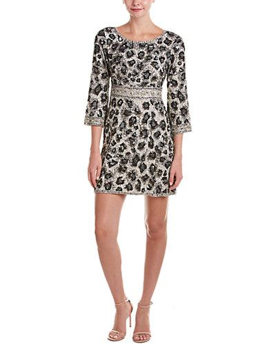 Calypso St. Barth Mignia Embellished Silk-Blend A-Line Dress