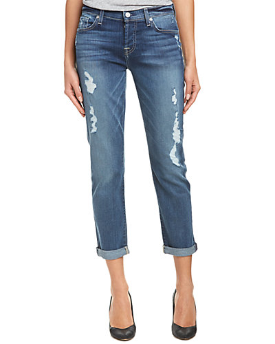 7 For All Mankind Josefina Sadie Medium Sanded Skinny Leg
