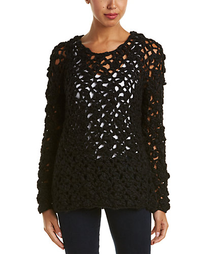 Elie Tahari Wool-Blend Sweater