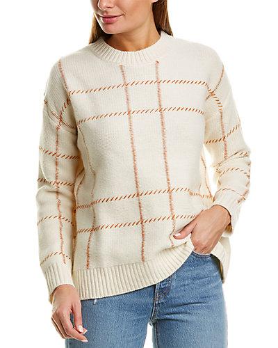 Rue La La — Chinti & Parker Contrast Check Wool Sweater