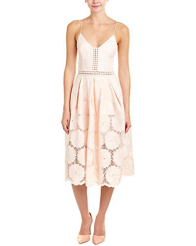 n / nicholas Sunflower Lace A-Line Dress