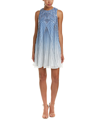 Parker Peony Sequined Shift Dress