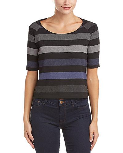 Three Dots Cameron Stripe T-Shirt