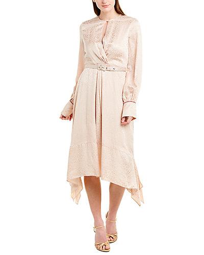 Rue La La — Jonathan Simkhai Jacquard Silk-Blend Midi Dress
