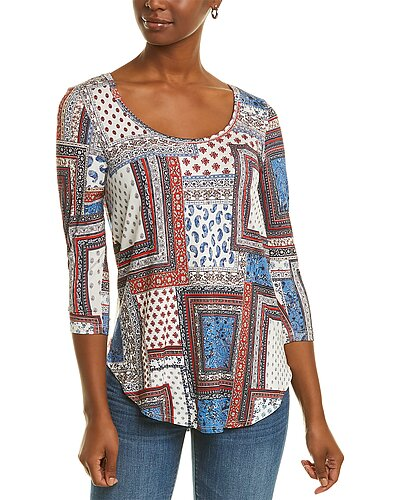 Rue La La — Karen Kane 3/4-Sleeve Shirttail T-Shirt