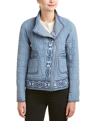 Rebecca Taylor Picktstitch Embroidered Jacket