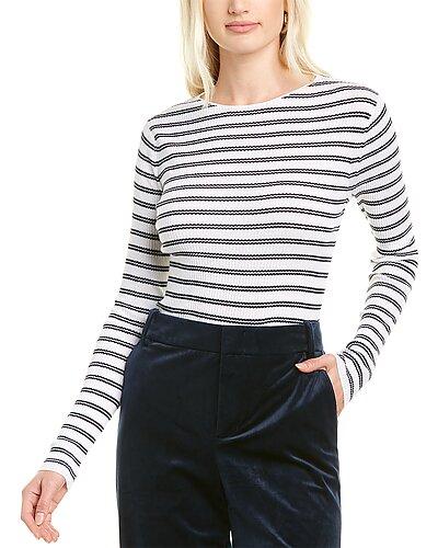 Rue La La — Vince Striped Sweater