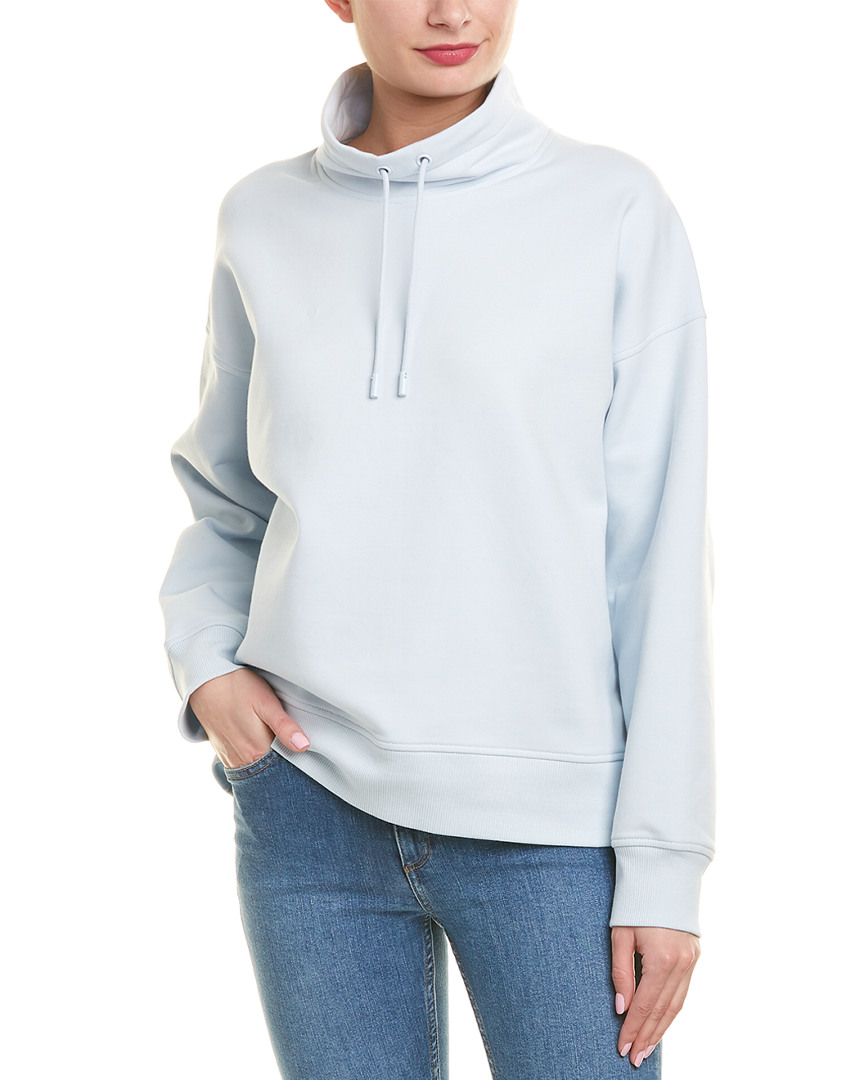 8f10941ee8b2f1 Vince Womens Funnel Neck Pullover, S, Blue 190820561802 | eBay