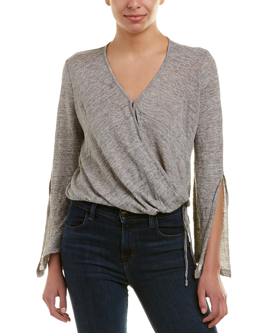 Young Fabulous & Broke YFB CLOTHING HOMESTEAD LINEN TOP