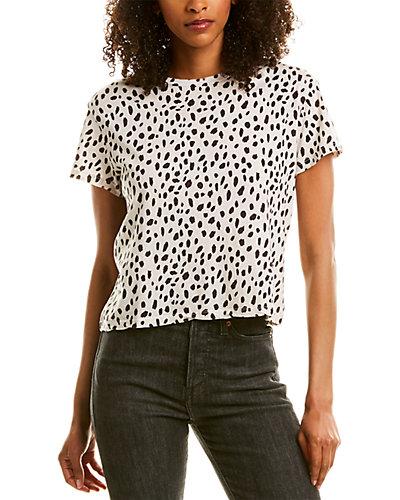 Rue La La — Monrow Cheetah Vintage T-Shirt