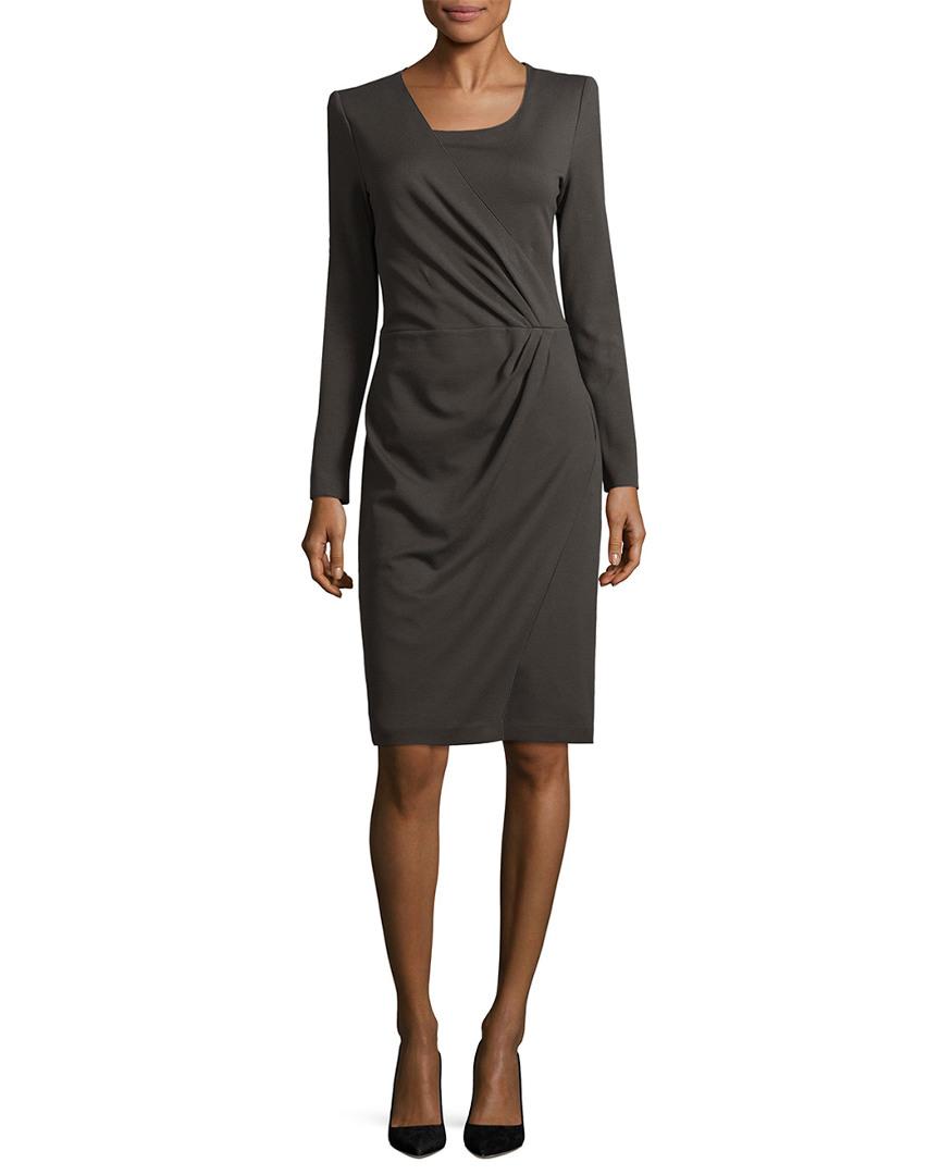 Armani Collezioni WRAP SHEATH DRESS