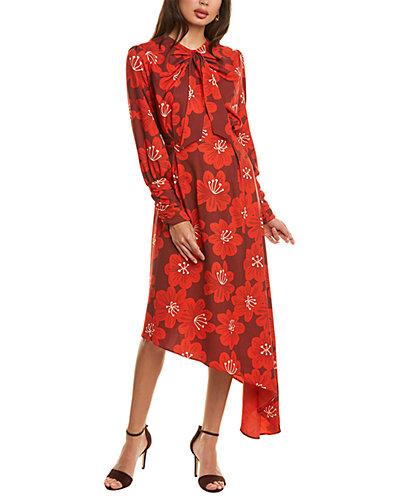 Rue La La — Dodo Bar Or Melody Midi Dress