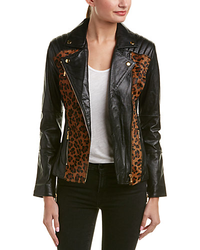 AS by DF Lou Perfecto Leather Jacket