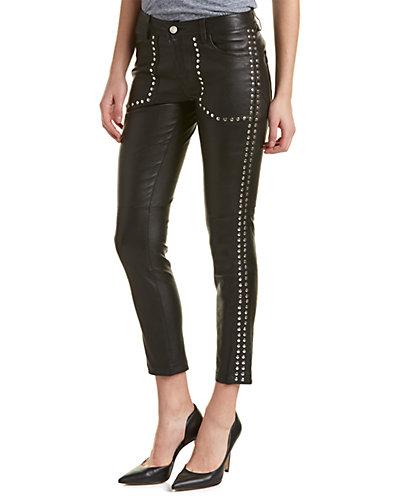 Zadig & Voltaire Evron Studs Deluxe Leather Pants