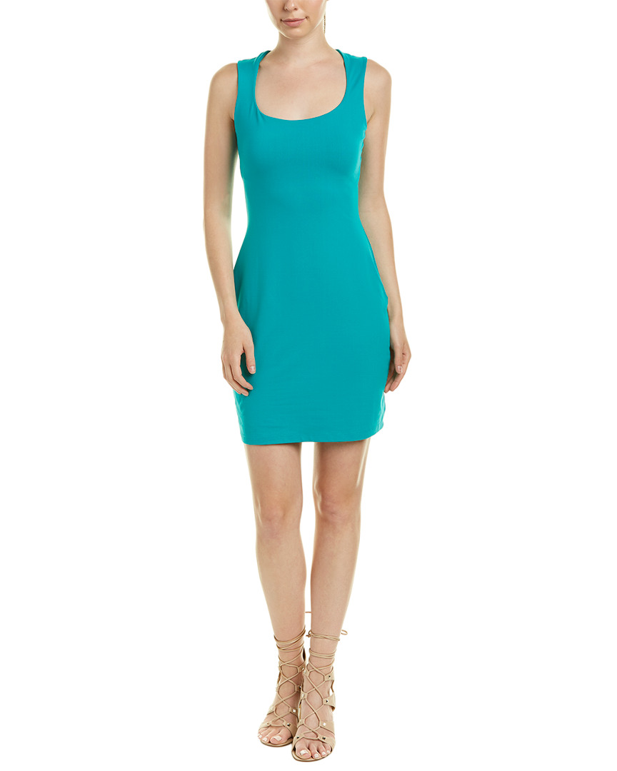 SCOOP SHEATH DRESS