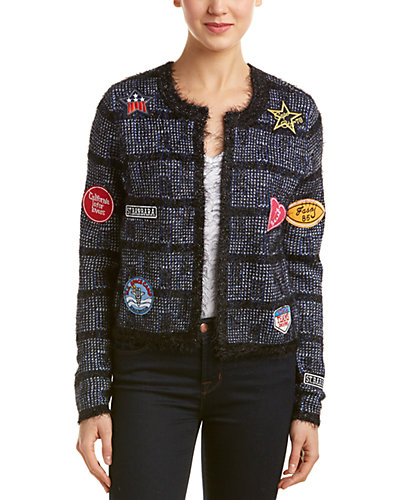 Romeo & Juliet Couture Patchwork Jacket