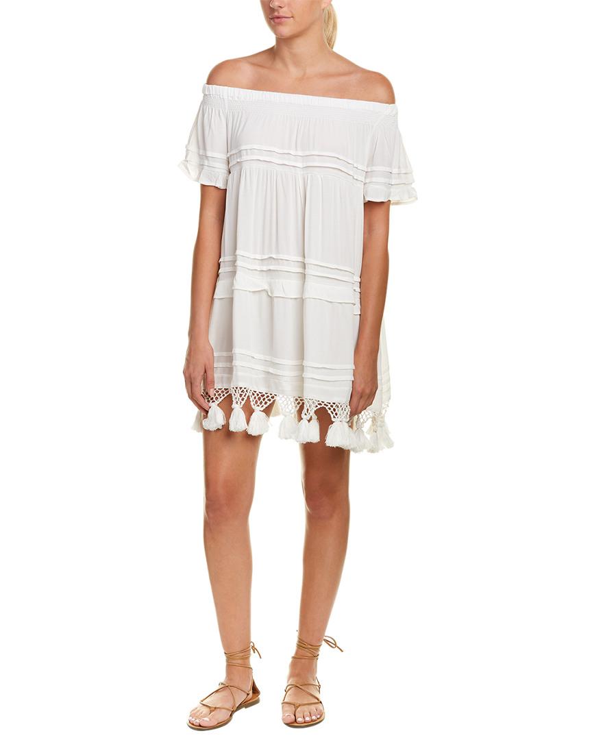 TASSEL SHIFT DRESS
