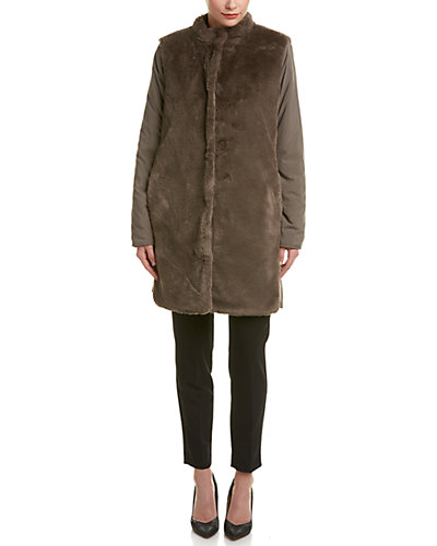 Elie Tahari Reversible Coat