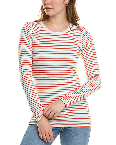 Rue La La — J.Crew Perfect Fit Stripe T-Shirt