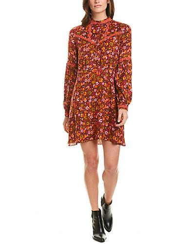 Rue La La — Anna Sui Begonia Blend Shift Dress
