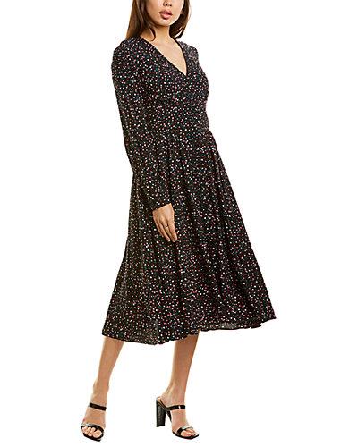 Rue La La — Diane von Furstenberg Peony Midi Dress