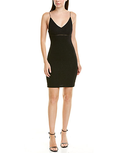Rue La La — alice + olivia Dixon Silk-Blend Mini Dress