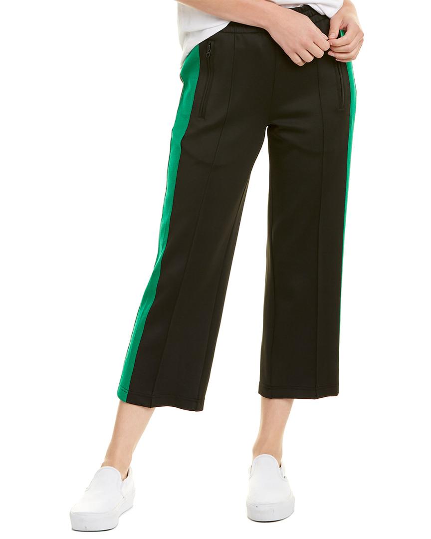 Pam /& Gela Womens Metallic Wool Blend Striped Crop Sweater Top BHFO 0294