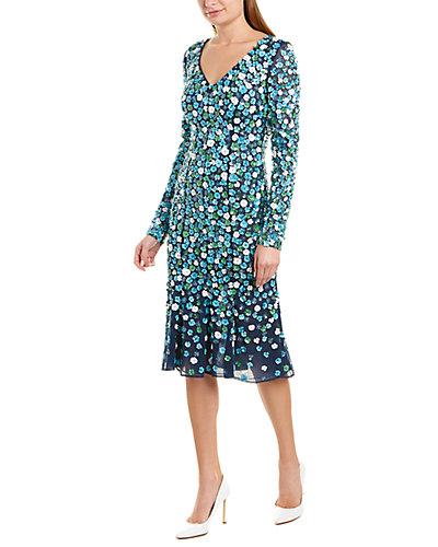 Rue La La — Michael Kors Collection Midi Dress