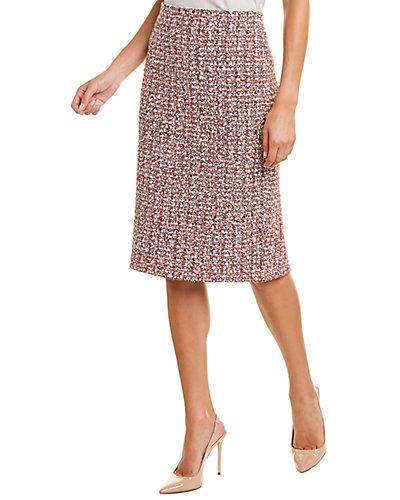 Rue La La — St. John Wool-Blend Skirt