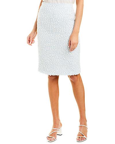 Rue La La — Oscar de La Renta Wool-Blend Skirt