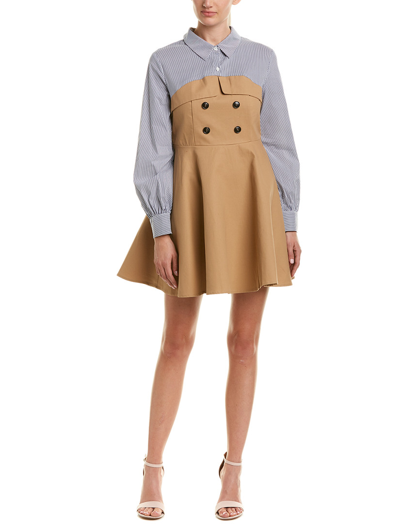 English Factory CONTRAST SHIRTDRESS