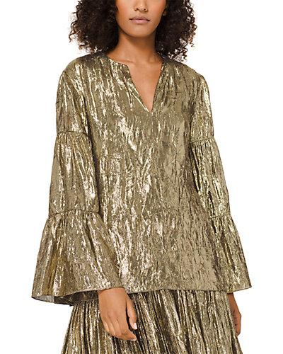Rue La La — Michael Kors Collection Silk-Blend Top