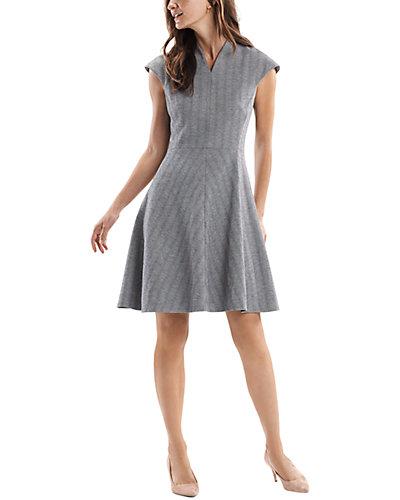Rue La La — M.M.LaFleur Wool-Blend Mini Dress