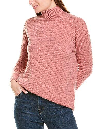 Rue La La — sofiacashmere Popcorn Stitch Cashmere Sweater